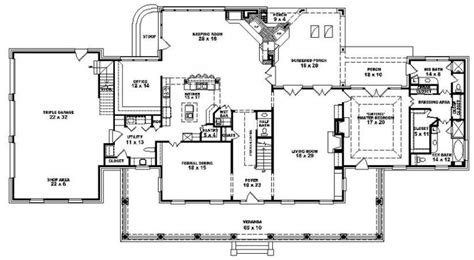 plantation house floor plans plantation home floor plans fresh louisiana plantation style house plan 1 5 story 4 bedroom 3 5