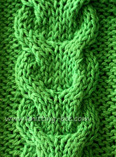 cable stitch knitting pin crochet celtic pattern free patterns on