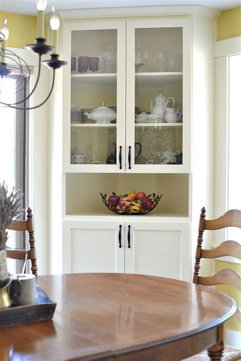 corner dining room cabinets best 25 corner china cabinets ideas on small