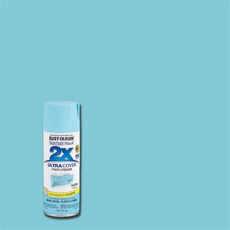 home depot rustoleum spray paint colors rust oleum painter s touch 2x 12 oz satin aqua general