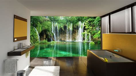 murals for wall beautiful wall mural designs for your bathroom