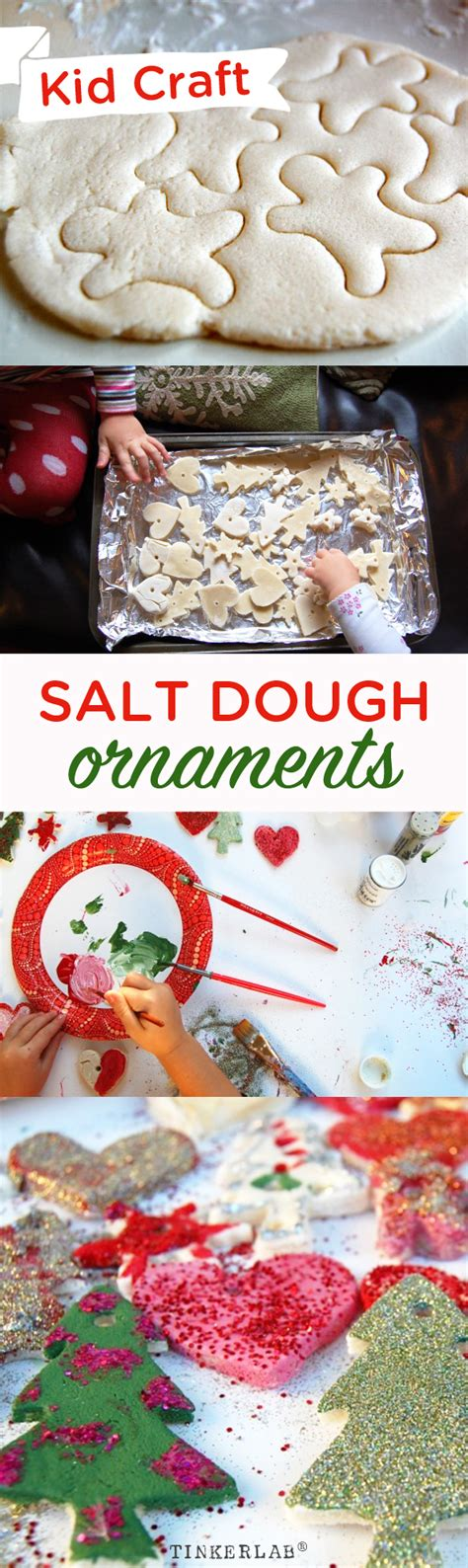 diy salt dough ornaments salt dough ornaments and decorations tinkerlab