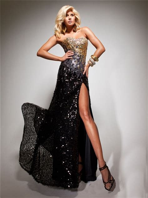 prom dress with gold beading sheath sweetheart black gold sequined beaded evening