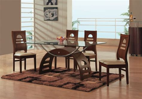 dining room table glass top 39 modern glass dining room table ideas