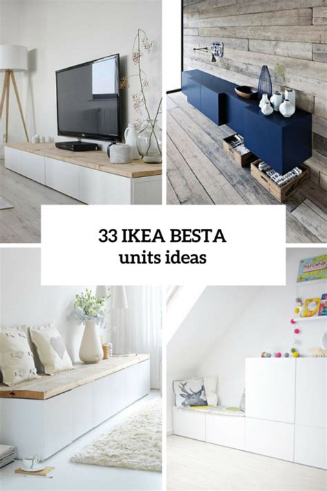 45 ways to use ikea besta units in home d 233 cor digsdigs - Besta Unit Ideas