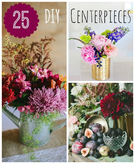 diy centerpieces 25 diy wedding centerpieces