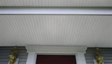 beaded vinyl soffit pin by cole on curb appeal