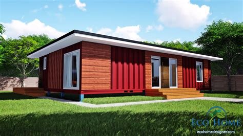 2 bedroom home sch11 3 x 40ft 2 bedroom container home plans eco home
