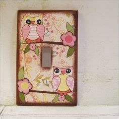 decoupage switch plates 1000 images about children s decor on light