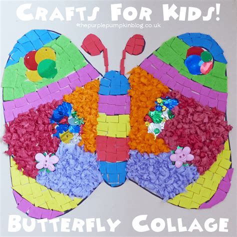 collage crafts for simple collages for 187 the purple pumpkin