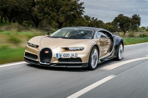 Gold Bugatti Cost by 1 500 Horsepower Bugatti Chiron Gets Epa Rating
