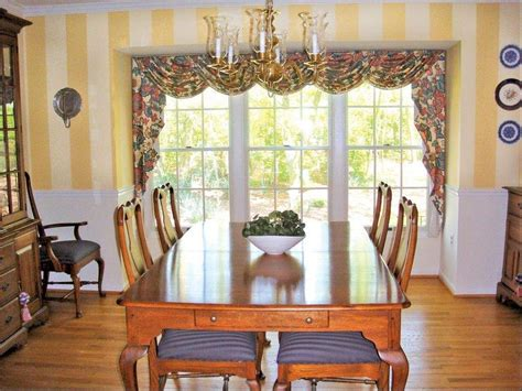 large kitchen window treatment ideas caster dining room chairs dining room table sets with