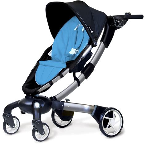 origami pushchair 4moms 4moms origami 174 stroller blue 4moms from w h watts