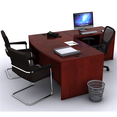 office u shaped desk l shaped bow front desk new office