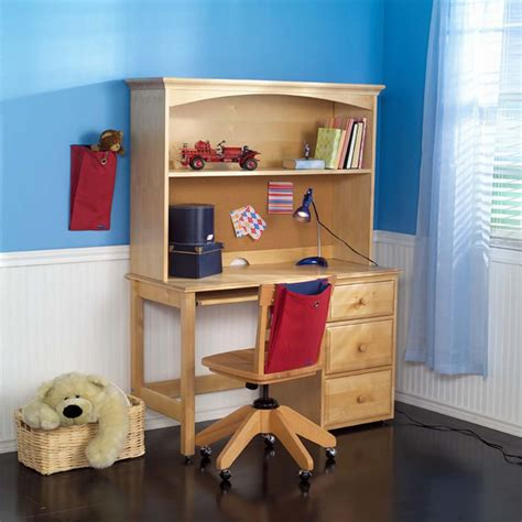 kid desk with hutch student desk with hutch by maxtrix shown in