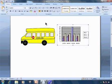 Word 2007 Tutorial 27 - Pictures, ClipArt, and Graphs Not ... Word 2007 Clipart Not Working