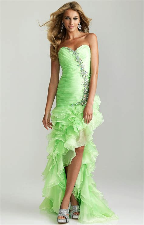 prom dress lime green prom dresses best dress choice
