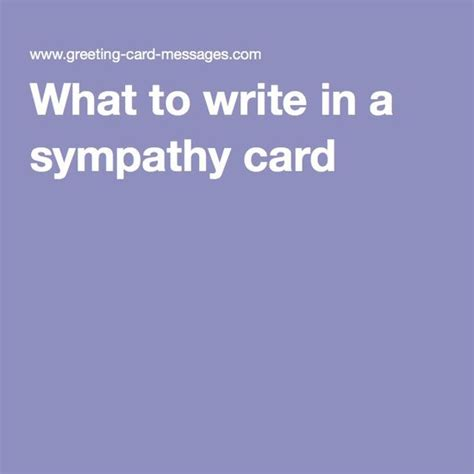 Sympathy Cards And Cards On