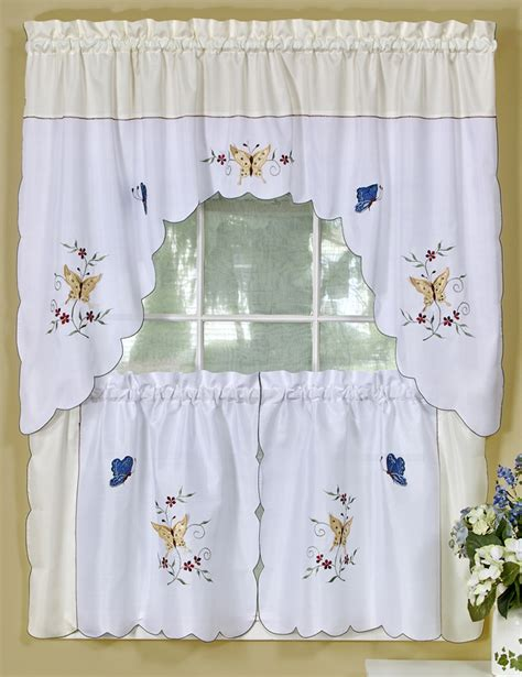 cheap kitchen curtain sets discount kitchen curtain sets