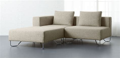 modern sofas sectionals best small modern sectionals freshome
