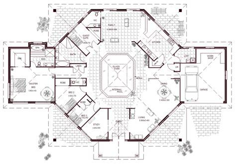 5 bedroom floor plans australia 5 bedroom home with pool