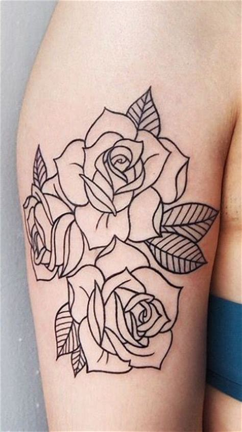 best 25 rose outline ideas on pinterest simple rose