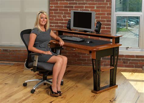 hide computer wires desk modern computer desk caretta workspace