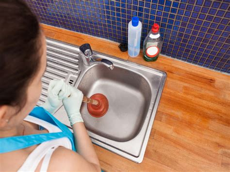 unclog kitchen sink naturally diy ways to unclog a sink naturally boldsky