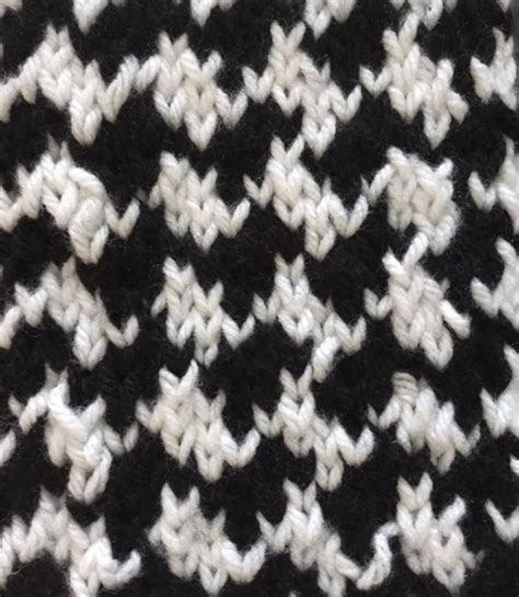 how to knit houndstooth shhh no one needs to how easy this houndstooth