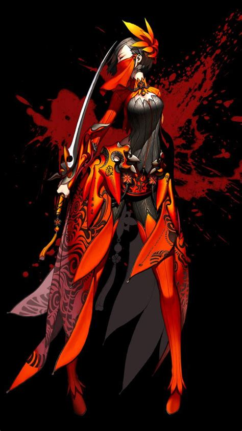 blade and soul official blade and soul concept promotional posters