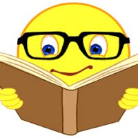 animated picture of a book book reading read story smiley smilie emoticon animated