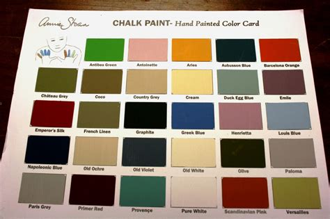 chalk paint in colors loot about chalk paint 174 decorative paint