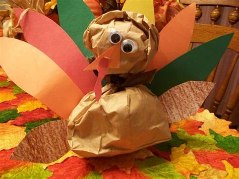 thanksgiving paper bag crafts 20 and crafty paper bag turkey projects guide patterns