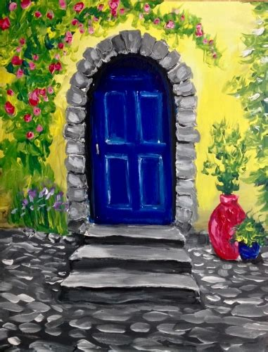 paint nite yerman s italian villa at paint nite events