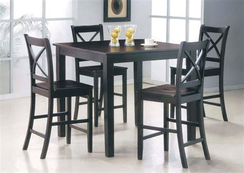 Height Dining Table Set Martha 5pc Counter Height Dining Table Set Dining Room Sets
