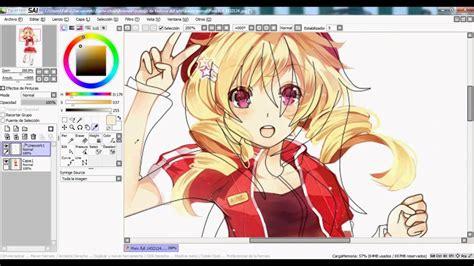 Descargar Paint Tool Sai En Espa 209 Ol Eme 21 Anime