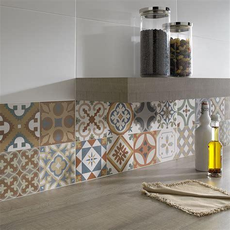 kitchen wall tile patterns top 15 patchwork tile backsplash designs for kitchen