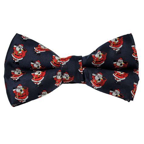 navy blue santa hats navy blue santa claus novelty bow tie from ties