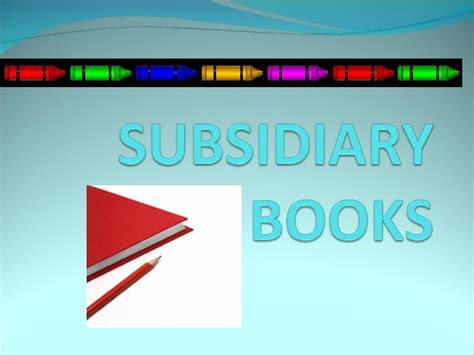 define picture book subsidiary books
