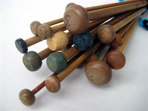 used knitting needles for sale vintage sewing needles buttons thimbles etc on