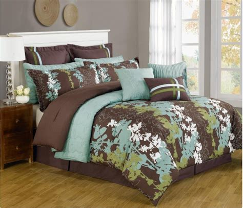 turquoise brown comforter sets turquoise and brown bedding archives bedroom decor ideas