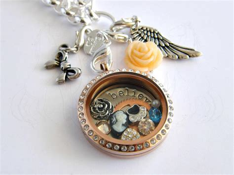 cheap origami owl lockets origami owl living locket by emagyne on deviantart