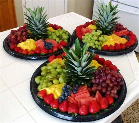 Home Decorating Blogspot frugalicious chick fruit display ideas for any gathering