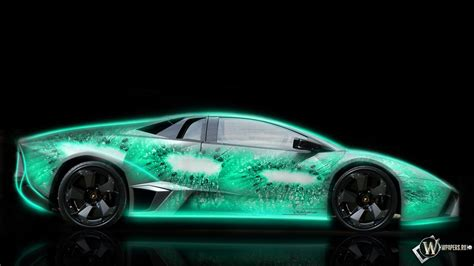 Car Wallpaper Hd 1920x1080 Nature Pictures by Neon Colored Cars Wallpapers Hd Neon Nature Lamborghini