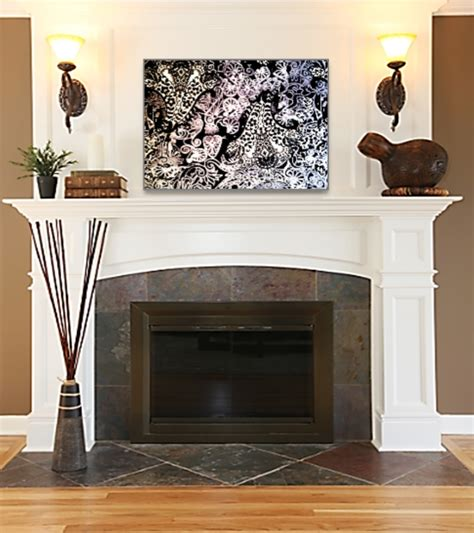 fireplace wall decor what decor this fireplace floor paint ceiling