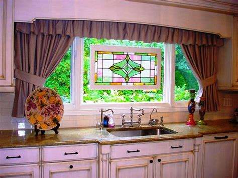 kitchen cafe curtains ideas suitable kitchen curtain ideas make your kitchen more