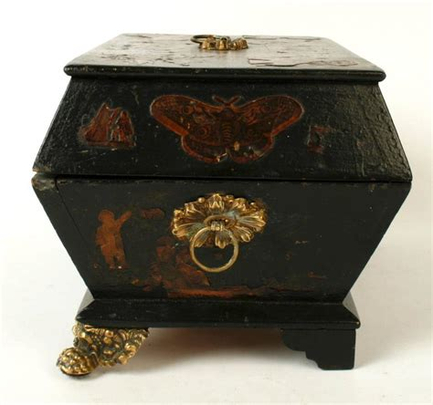 decoupage boxes for sale regency decoupage box early 19th century for sale