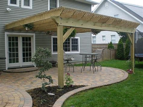 how to build a pergola attached to house how to build a pergola attached to house hunker