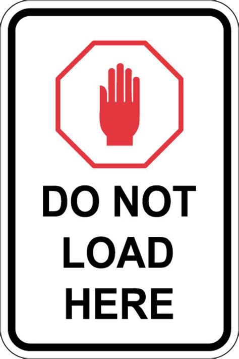 not loading ansi b77 1 annex d ski lift signs stonehouse signs
