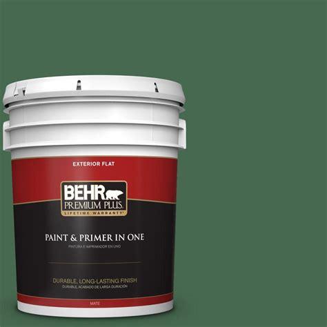 behr paint colors green exterior behr premium plus 5 gal m410 7 perennial green flat